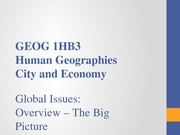 1HB3 Lecture 5 The Big Picture 2014-2