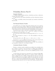 Probability Review Part2
