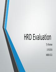 HRD Evaluation.pptx