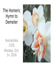 Week Four_oct 3_hymn to demeter