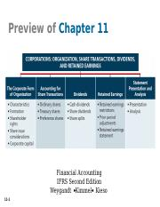 ch. 11 Corporate Form of Organization