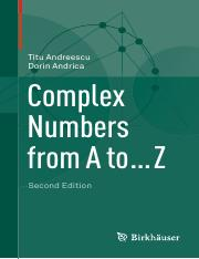 dnsyj.Complex.Numbers.from.A.to.....Z.2nd.edition.pdf