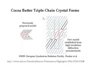 Cocoa Butter Crystal Form