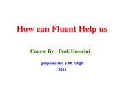 Microsoft PowerPoint - How can Fluent Help us
