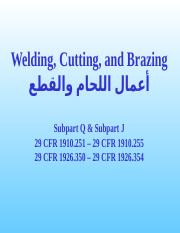 19_Welding and Cutting