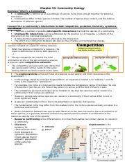 Ch 53 Community Ecology Notes.doc