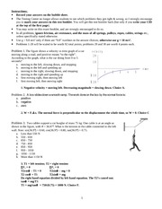 exam 3 - Fall 2009 - solutions
