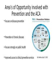 Area's of Opportunity involved with Prevention and the.pptx