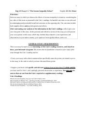 Spring 2017-Eng 215-Essay 1 Writing Assignment-The Income Inequality Debate.docx