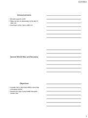 10. World Word II%2c Recovery and World Communism Handout