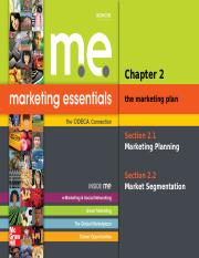 Unit 1_ Chapter 2_ The Marketing Plan_