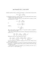 PHYS 3003 Spring 2015 Assignment 4 Solutions