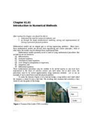 Introduction to Numerical Methods Notes