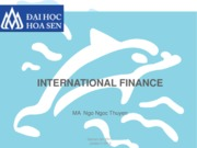 SLIDE INTERNATIONAL FINANCE BY MS THUYEN edited