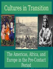 HIST2301, Cultures in Transition (2015 version) (1)