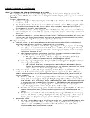 Maternity Exam 3 Study Guide