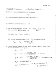 Chapter 4 Worksheet Answers