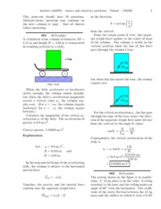 Statics and Elasticity Problems
