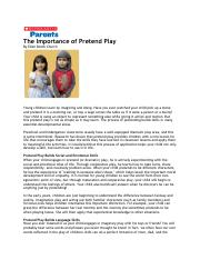 The Importance of Pretend Play.pdf