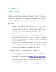 Installing and configuring Python (Chapter 1) docx - Chapter 1