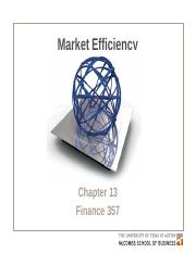 Chapter 13 Efficient Capital Markets and Behavioral.pptx