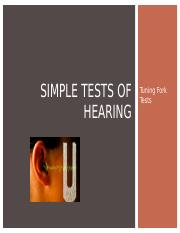 9 Simple Tests of Hearing-S.ppt