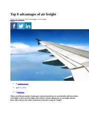Paul-2-Top 8 advantages of air freight