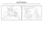 MECH2400 5400 Tutorial Week 2 Assembly Drawing Solution