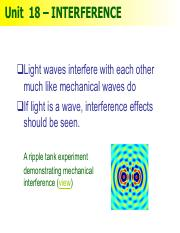Notes18 - Inteference(1)