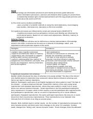 CLOA-study-guide - The Cognitive Level of Analysis Study ...