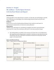 Earth And Space 3 02 Docx Groundwater Activity Worksheet Introduction You Have Learned A Lot About Groundwater Including How It Cycles Through Earth S Course Hero