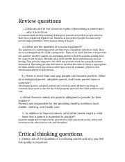 Review questions and critical thinking questions..docx