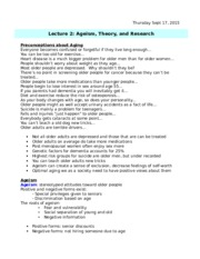 Lecture 2 - Ageism, Theory & Research.docx