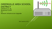 GREENVILLE AREA SCHOOL DISTRICT Second Draft.ppt