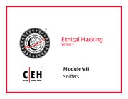 CEH v5 Module 07 Sniffers