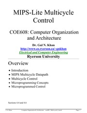 Multicycle-Control