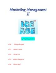 mkt 505 assignment 1 global business