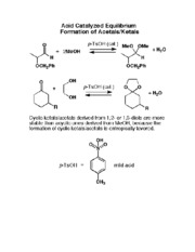CHEM 276 Acid Catalyzed