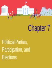 CH 7 Political Parties, Participation, and Elections.ppt