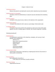 Marketing Chapter 14 Definitions .docx