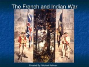 The French and Indian War (1)