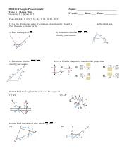 HW 15 - Triangle Proportionality Theorem; Three Parallel Lines Theorem.pdf