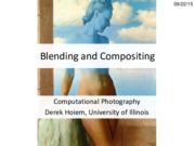 Lecture 09 - Blending and Compositing - CP Fall 2015
