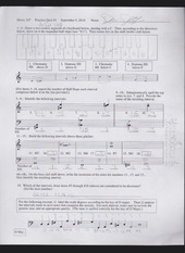 two octave segment worksheet