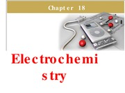 Chapter 18 - Electrochemistry