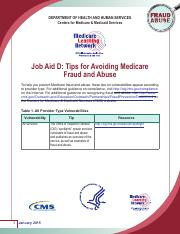 Job Aid D_Tips for Avoiding Medicare Fraud and Abuse.pdf