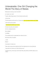 The Story of Malala transcript.doc
