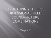 Lecture 18 - Sound and Picture Combinations-5