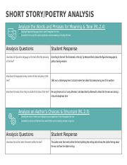 Short Story%2FPoetry Analysis Graphic Organizer.docx