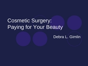 Cosmetic Surgery2